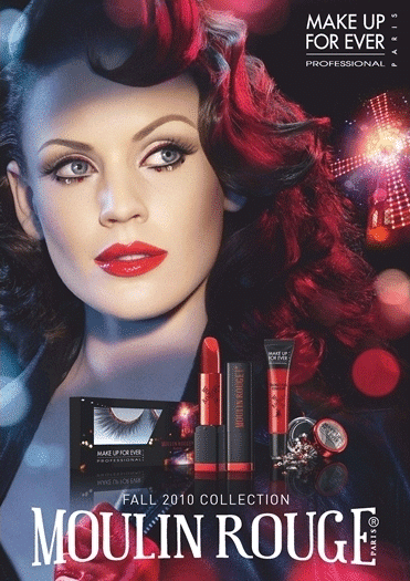 """Collection """"Moulin Rouge"""" Make Up For Ever automne 2010"""