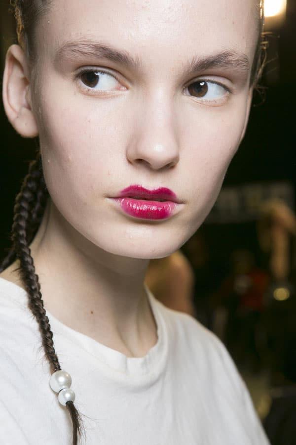 maquillage bouche extravagant