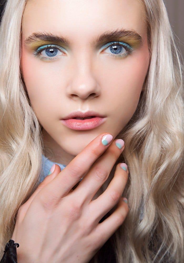 maquillage pastel