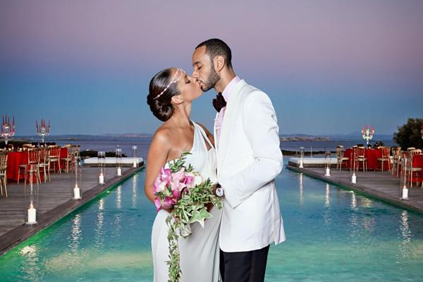 Le mariage d'Alicia Keys