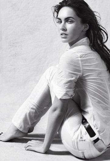 Megan Fox, nouveau visage des cosmétiques Armani