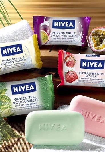 Les gourmandises de bain Nivéa
