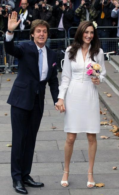 Paul McCartney et Nancy Shevell se sont mariés !