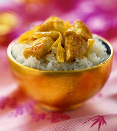 Recette du poulet au curry