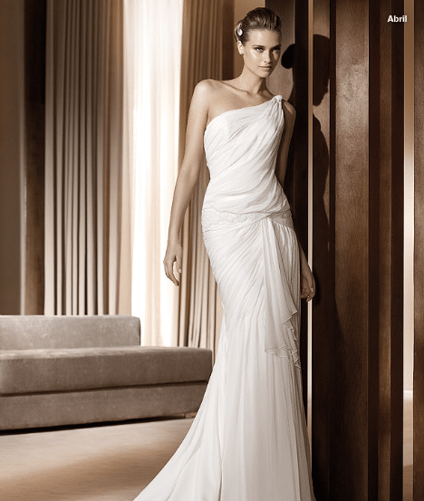 Collection Pronovias robes de mariée 2011