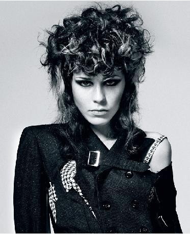 Punk goddess Schwarzkopf