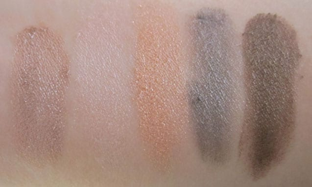 "Palette 5 couleurs Dior ""Ready to glow"" Swatch, test, photos"