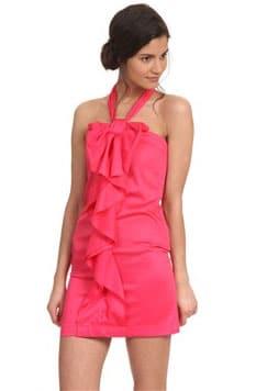 Coup de coeur : La robe nouée Corail Morgan