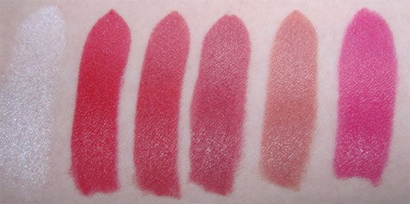 Rouge Pur Couture D Ysl Swatch Test Photos