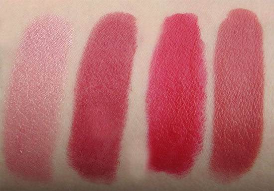 rouges coco chanel swatch