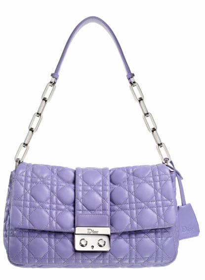 Le sac New Lock Christian Dior version Lilas