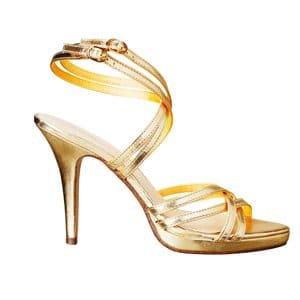 Coup de coeur : Les sandales dorées H&M