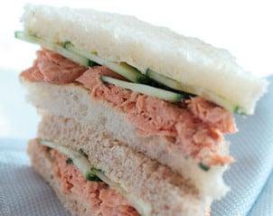 sandwich au saumon fum. Black Bedroom Furniture Sets. Home Design Ideas