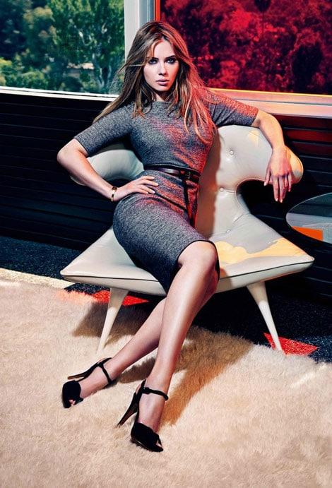 Scarlett Johansson pour la collection Mango automne/hiver 2010