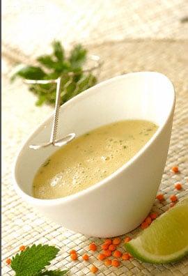 Recette de la soupe de lentille