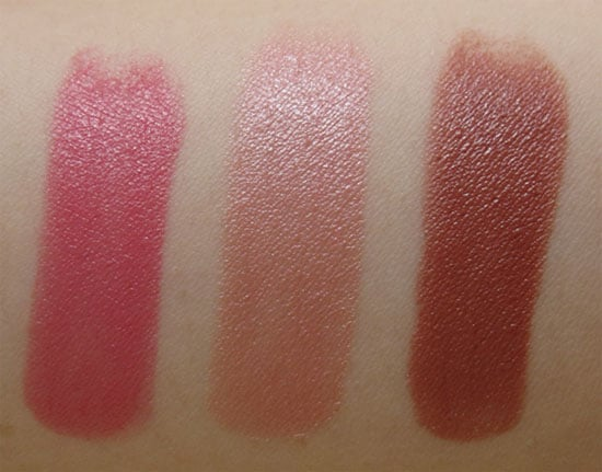 Rouge Dior teintes #434 #264 #351 Dior swtach test photos