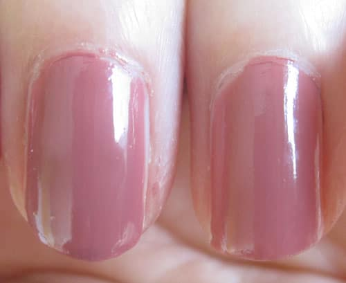 swatch vernis rose confidientiel Chanel