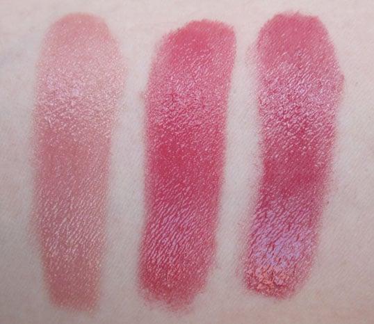 Rouge séum Dior teintes #640 #650 #660 #710 #730 #760 swatch, photos
