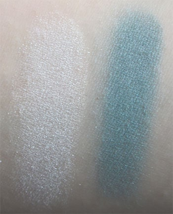 Ombres solos aquamarine et silver screen ysl swatch