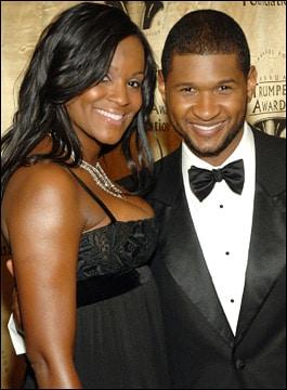 Usher peu affecté de la mort de son beau-fils ?