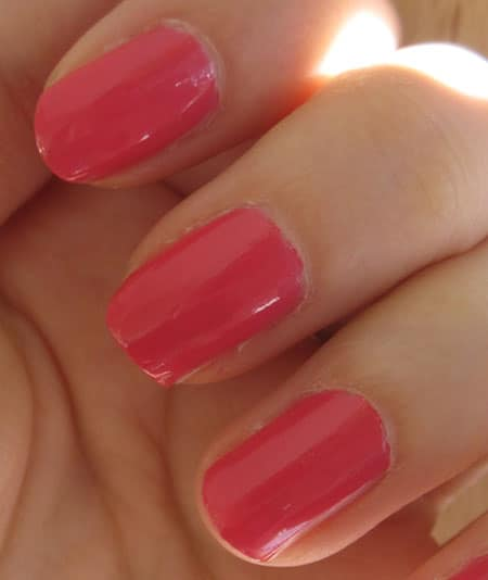 """Vernis """"Rose insolent"""" n°486 Chanel swatch, test, photos"""