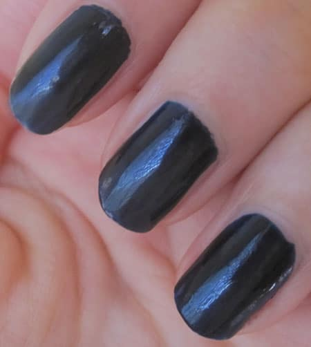 vernis chanel blue satin swatch