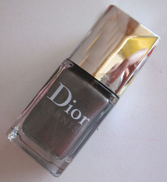 "Vernis ""Gris perle"" #604 Dior swatch, test, photos"