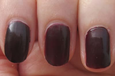vernis lancome Bloody black cherry