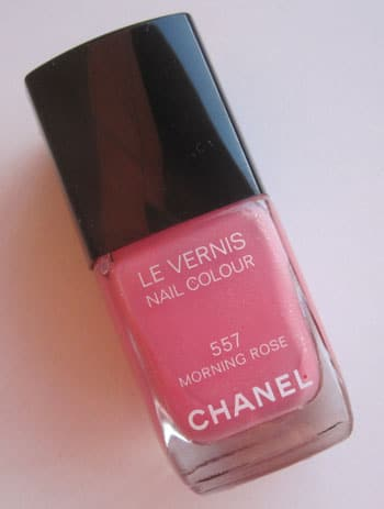 "Vernis ""Morning Rose"" Chanel swatch, test, photos"