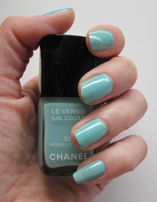 vernis chanel nouvelle vague swatch