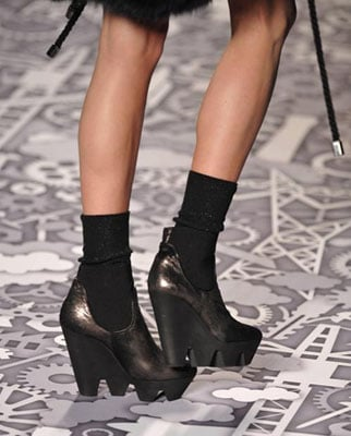 viktor rolf chaussures hiver 2011